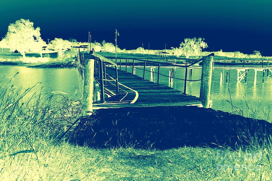 Fishing Dock Photograph - Fishing Dock by Mickey Harkins