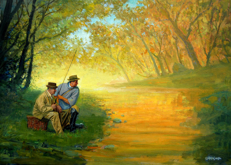 Fishing Friends by Mel Greifinger