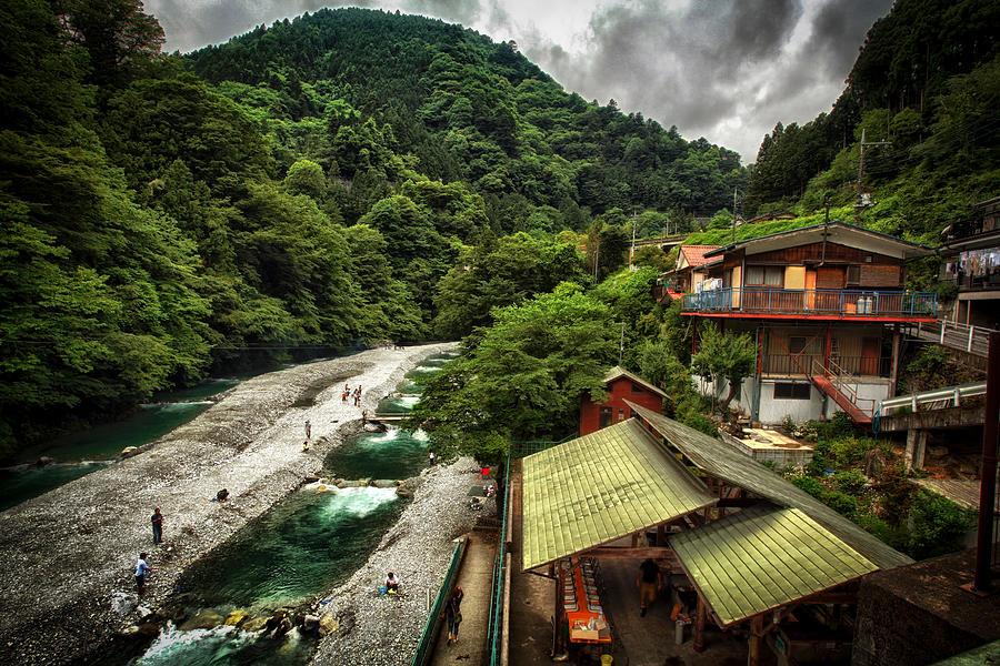 Japan Photograph - Fishing Hole In Okutama by Rscpics