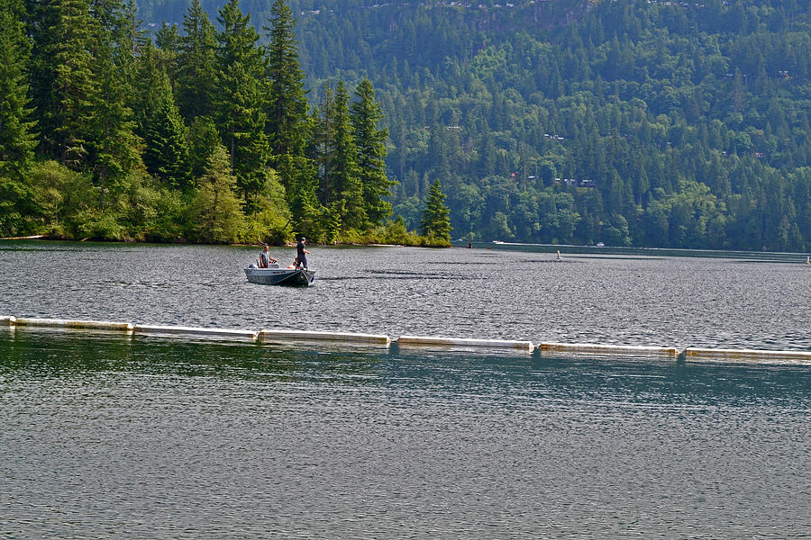 Fishing Photograph - Fishing Lake Merwin by David Quist