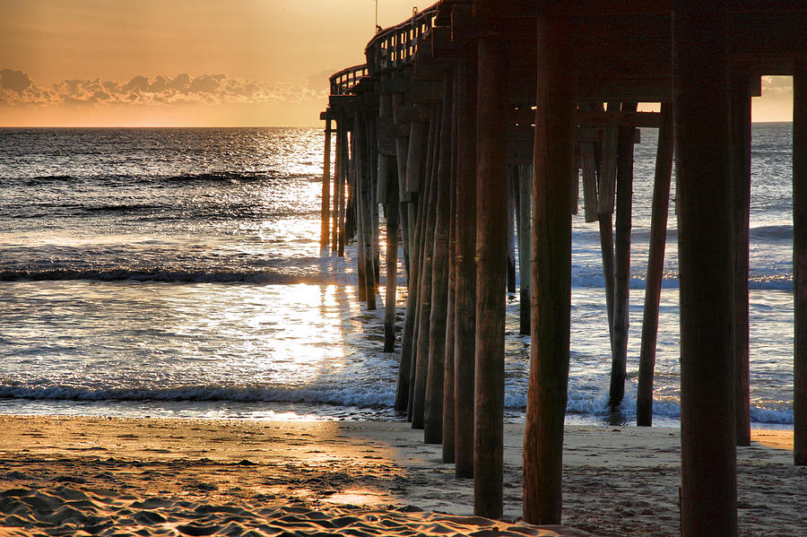 Fish Photograph - Fishing Pier IIi by Steven Ainsworth