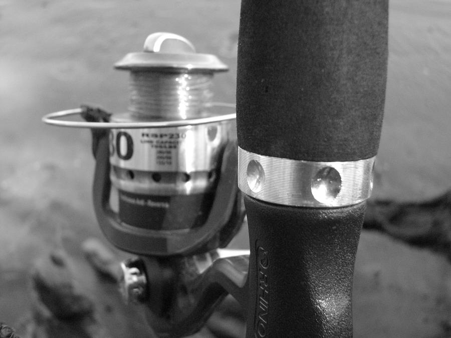 Fishing Pole Photograph - Fishing Pole by Daralyn Spivey