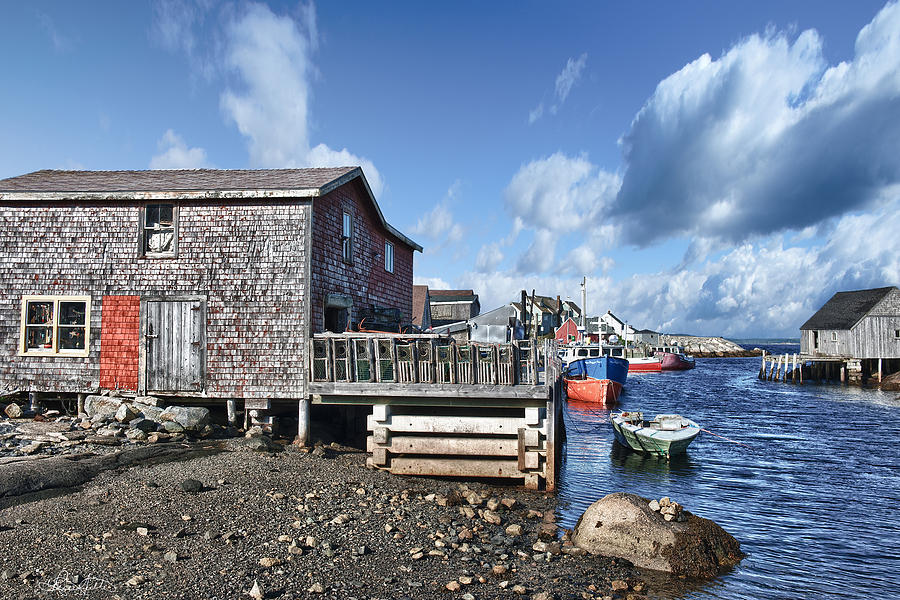 Primary Photograph - Fishing Town by Renee Sullivan