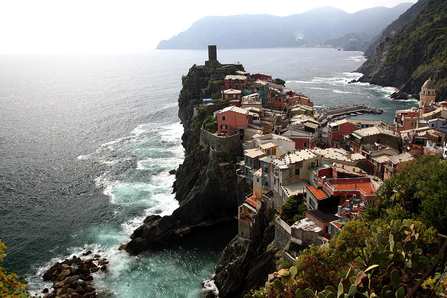 Fishing Village Of Vernazza, Looking Photograph by Bruce Yuanyue Bi