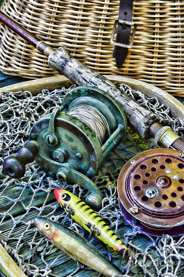 Fishing vintage fishing gear photograph by paul ward for American fishing tackle company