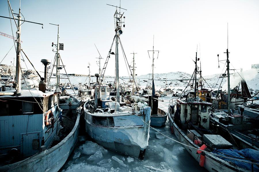 Fishingboats Photograph by Andre Schoenherr