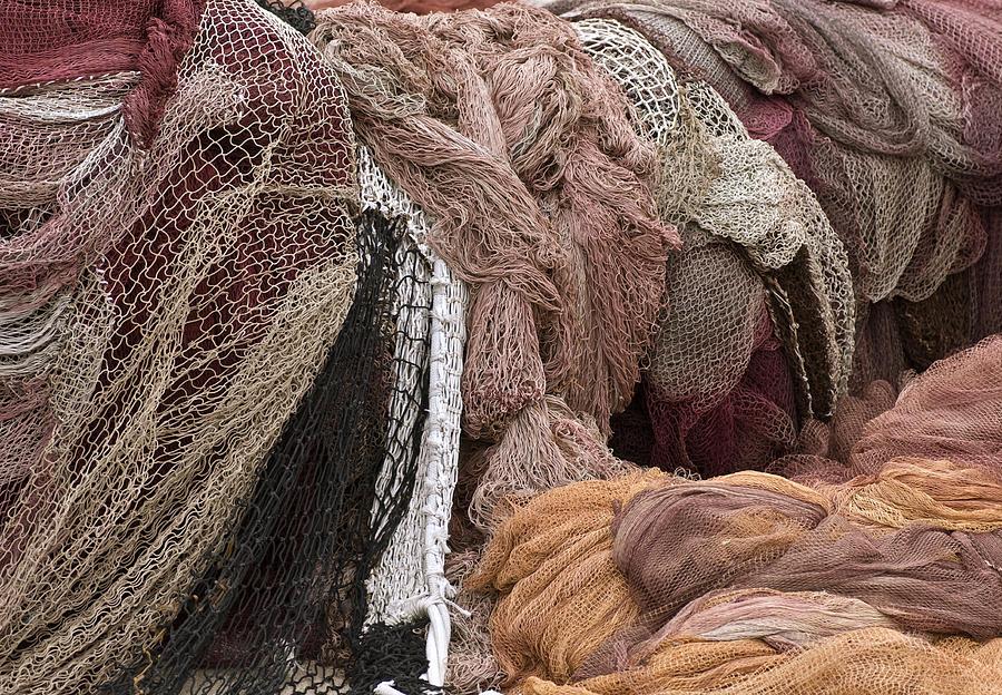 Fishnets Photograph - Fishnets by Frank Tschakert