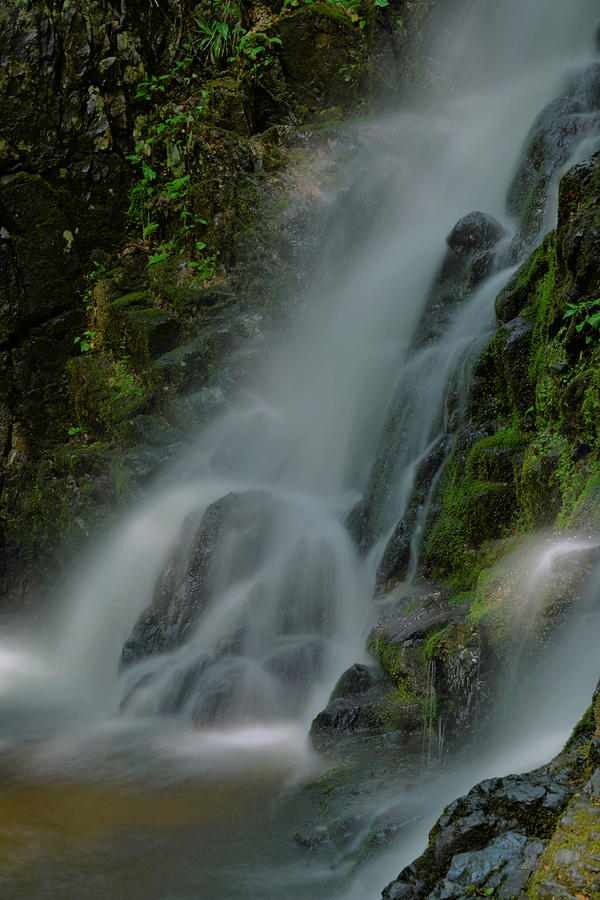 Waterfall Photograph - Fitzgerald Falls by Stephen  Vecchiotti