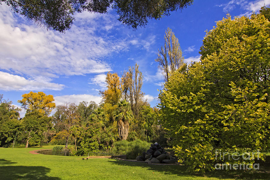 Fitzroy Gardens Photograph - Fitzroy Gardens in East Melbourne Australia by Beverly Claire Kaiya