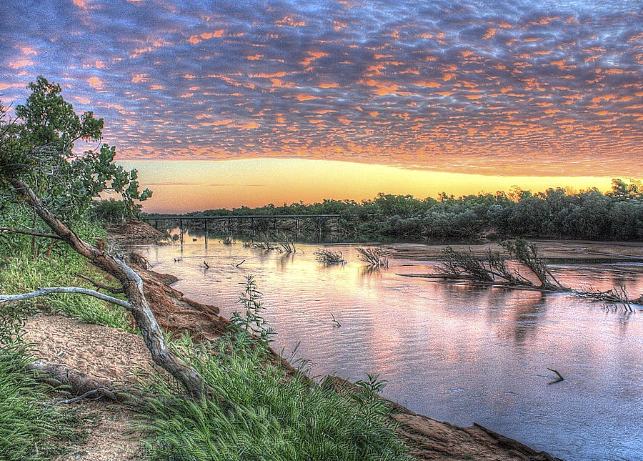 Fitzroy River Photograph - Fitzroy River by Ian  Ramsay