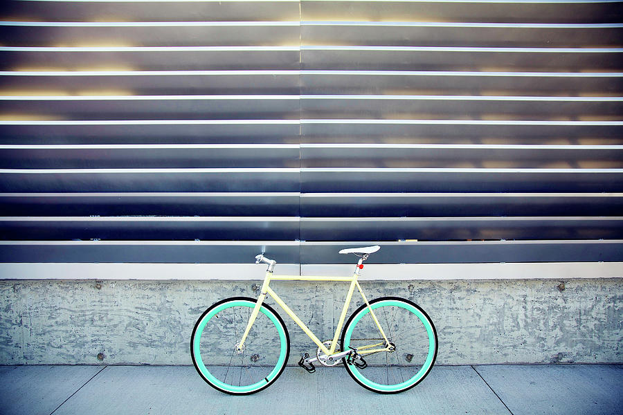 Fixie Photograph by I Love Taking Photo