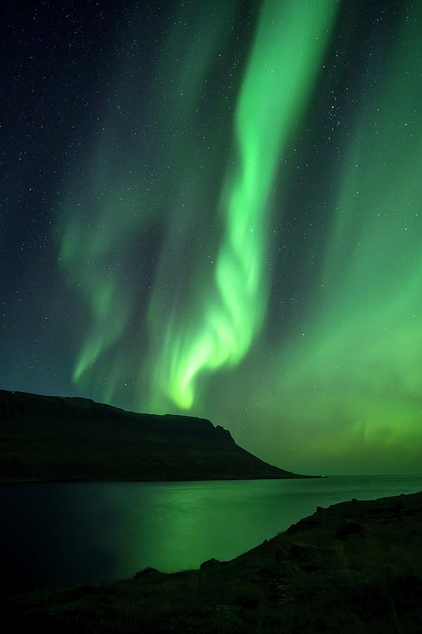 Iceland Photograph - Fjord Night by Karsten Wrobel