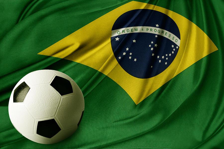 Flag And Ball Photograph