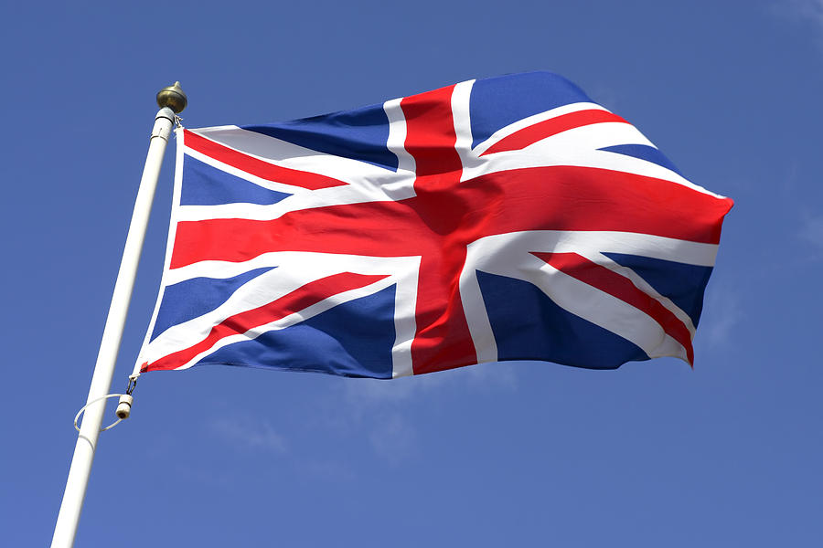 Flag Of Great Britain II Photograph by Ramberg