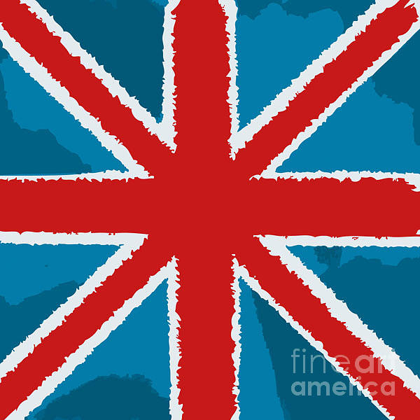 Symbol Digital Art - Flag Of Great Britain by Yuyula