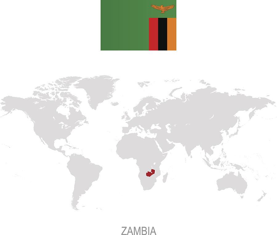 Flag Of Zambia And Designation On World Map by Poligrafistka Zambia On World Map on zambia on african map, zambia's map, chipata zambia map, copperbelt africa map, zambia map outline, zambia government members, zambia education, zambia political map, zambia geography, mpulungu zambia map, zambia government official website, zambia climate map, zambia agriculture, venezuela world map, zambia history, zambia neighboring countries, zambia on africa map, national park zambia africa map, zambia capital,