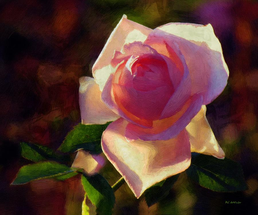 Painting - Flamboyant by RC deWinter
