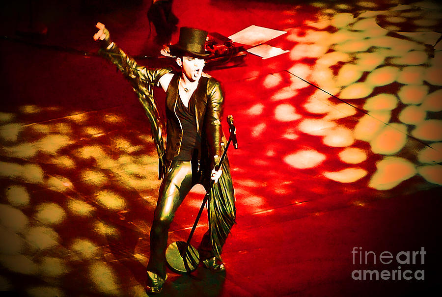 Adam Lambert In Concert by Marguerita Tan