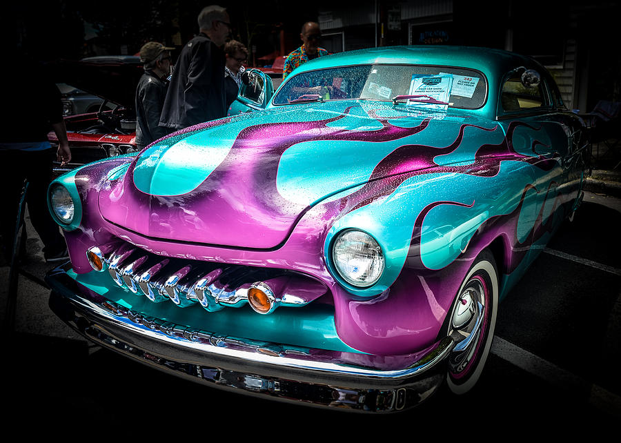 1950 Mercury Photograph - Flame On by Ronda Broatch