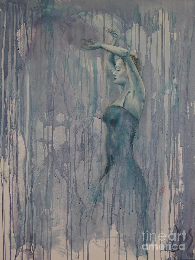 Flamenco 3 Painting by Jos Van de Venne