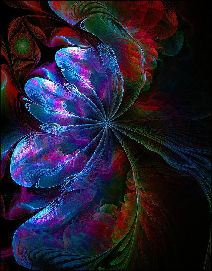 Abstract Digital Art - Flamenco by Amanda Moore