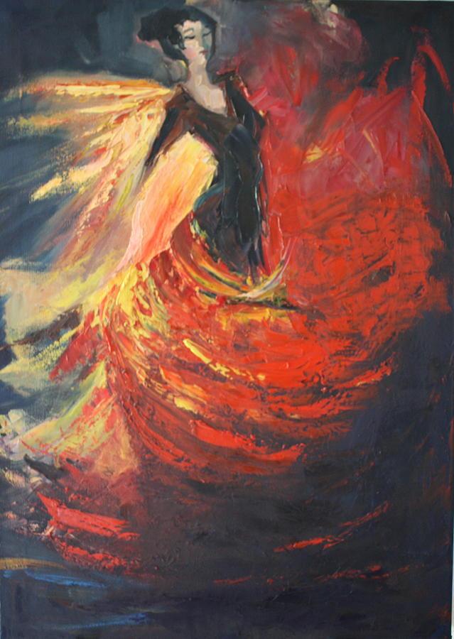 Flamenco Guitar Paintings