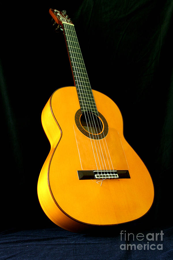 Guitar Photograph - Flamenco Guitar by Russell Christie