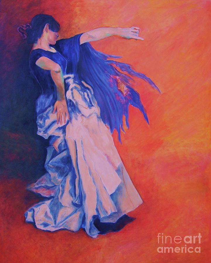 Dance Painting - Flamenco-john Singer-sargent by Dagmar Helbig