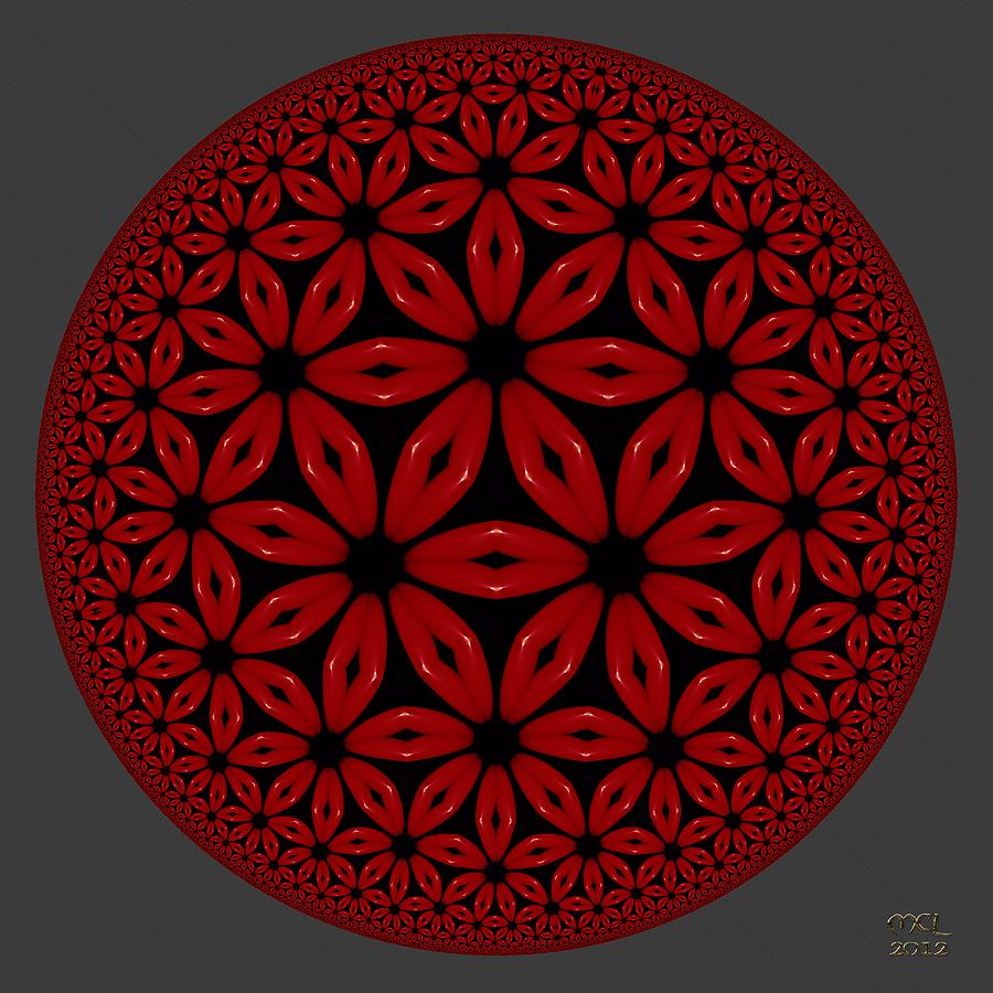 Computer Digital Art - Flamenco by Manny Lorenzo