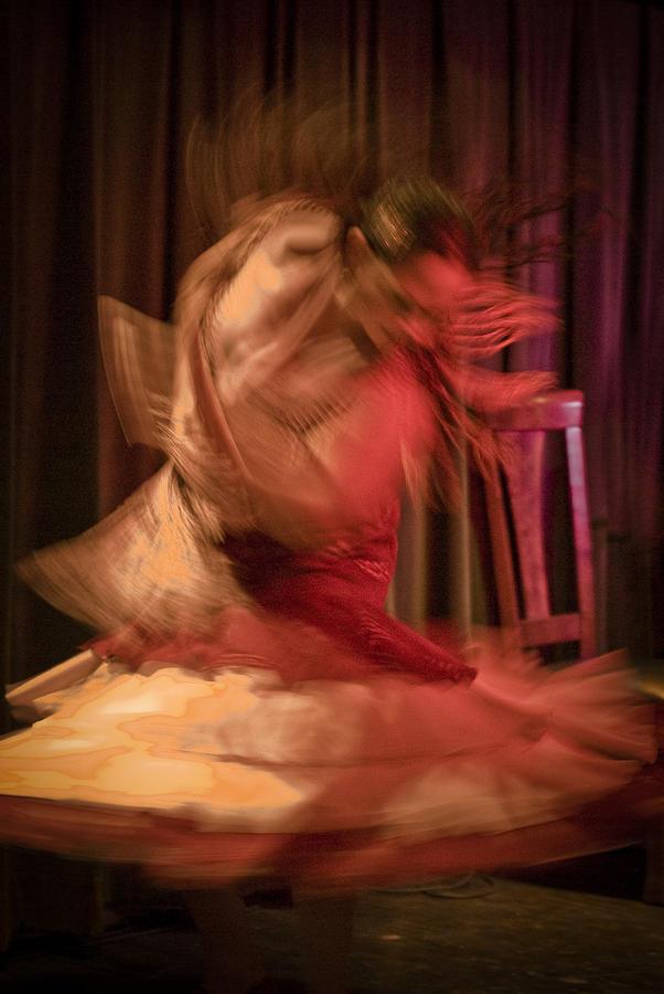 Flamenco Series 7 by Catherine Sobredo