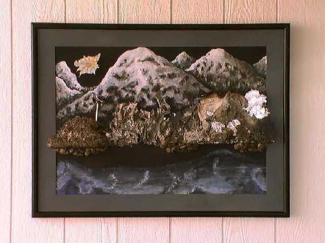 Mountains Painting - Flames To New Opportunities #4 by Tanna Lee M Wells