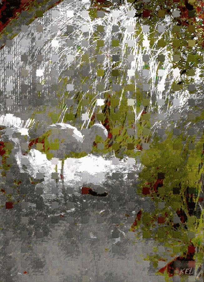 Flamingo Digital Art - Flamingo by Kelly McManus