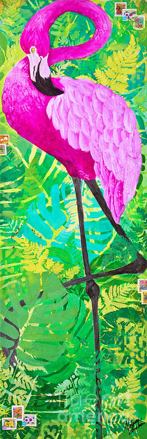 Flamingo by Melissa Sherbon