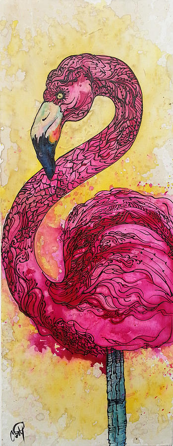 Flamingo Yo by Christy Freeman Stark