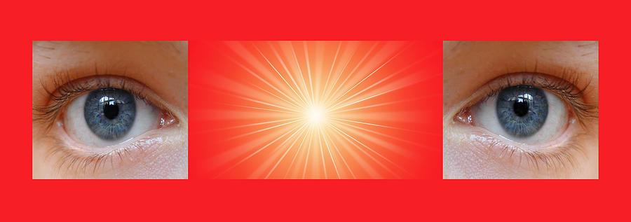 Meditation Digital Art - Flash 2 by Philip Ralley