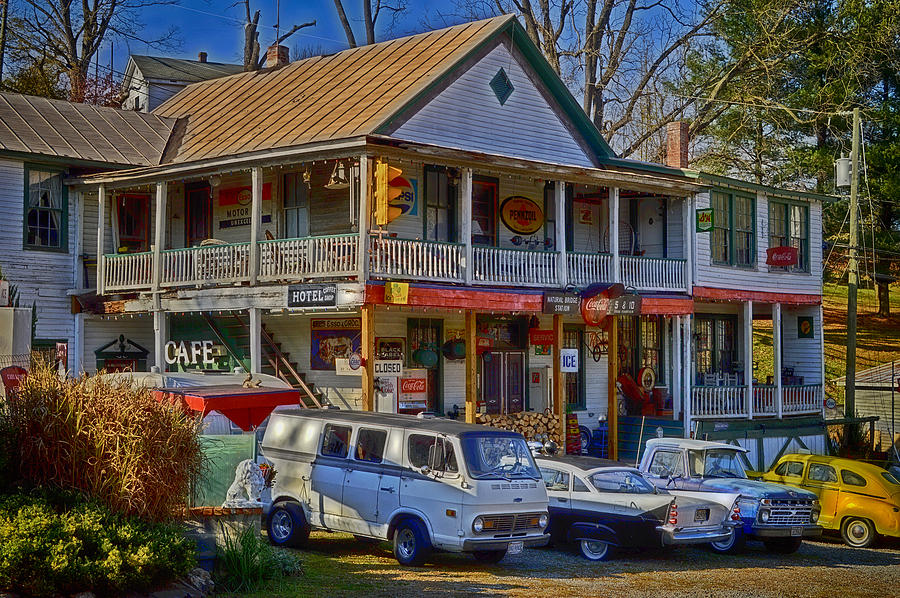 Country Store Photograph - Flashback by Kathy Jennings