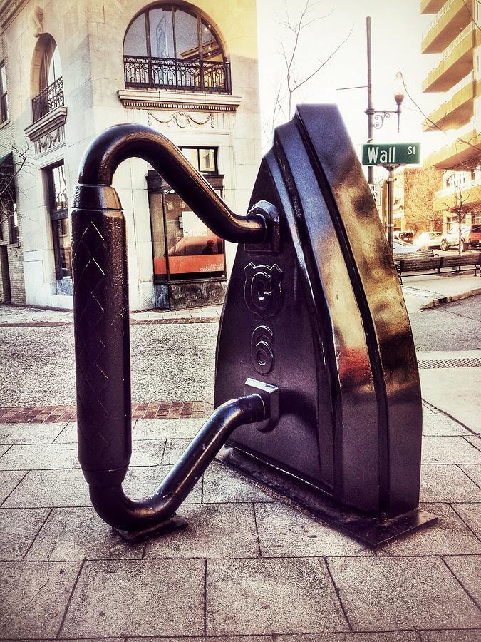 Asheville Photograph - Flat Iron by Mark Block