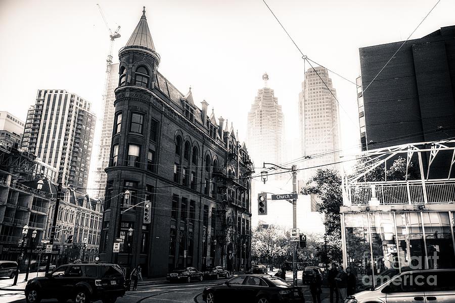 Architecture Photograph - Flat Iron Toronto by Matt  Trimble
