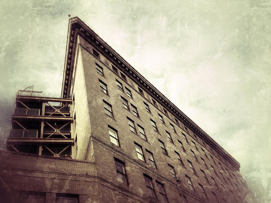 Flat Iron Photograph - Flat Iron/wall St.  by Mark Block