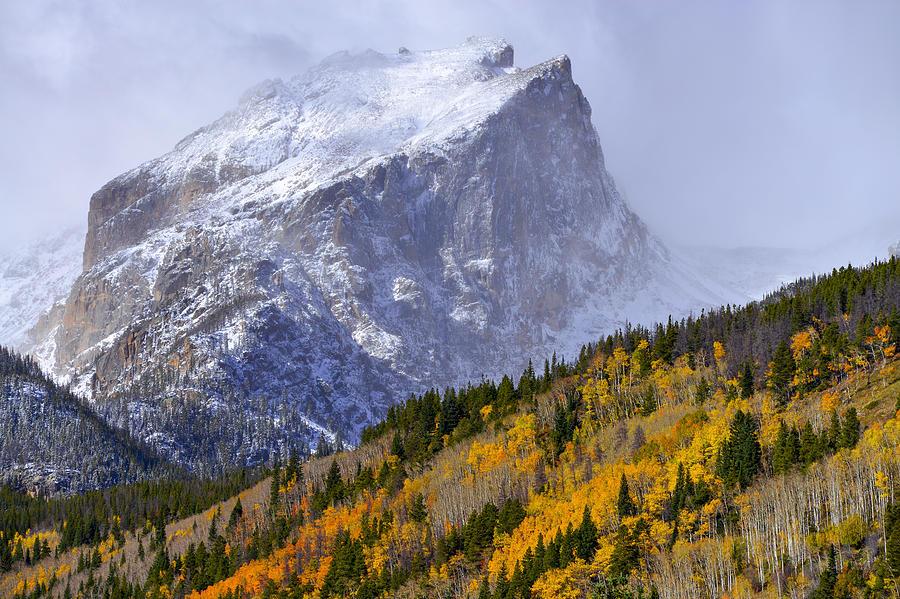 Autumn Photograph - Flat Top by Dustin  LeFevre