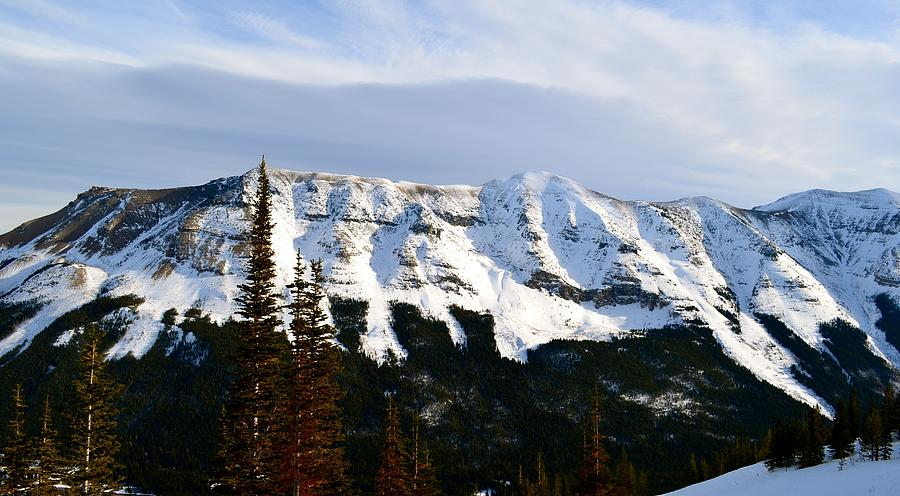 Mountain Photograph - Flat Top Mountain by Stephanie  Bland