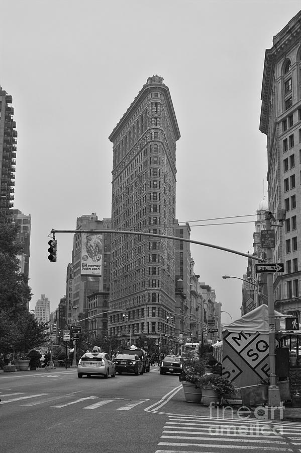 Flatiron Photograph - Flatiron Black and White by David Bearden