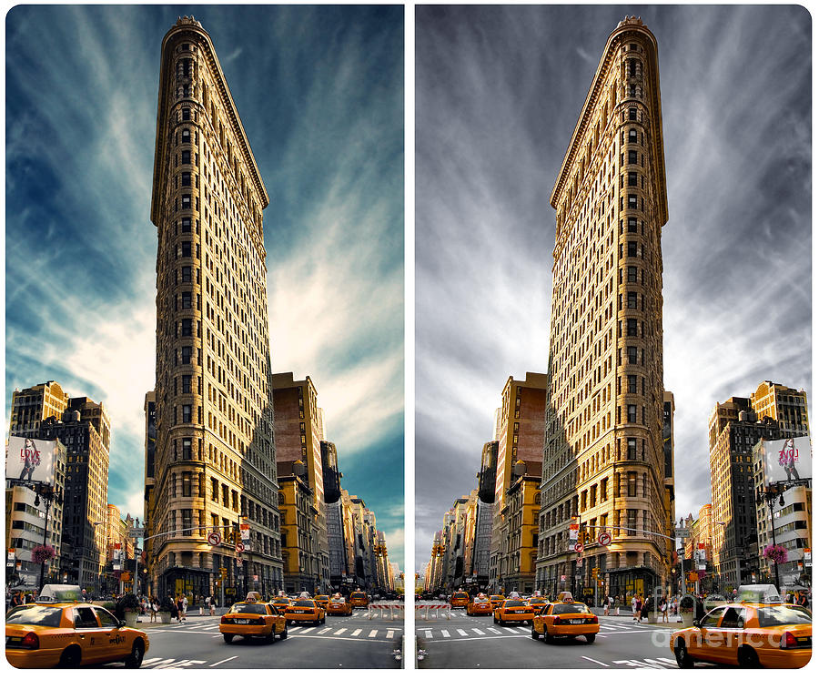 Flatiron District Photograph - Flatiron Building  by AHcreatrix