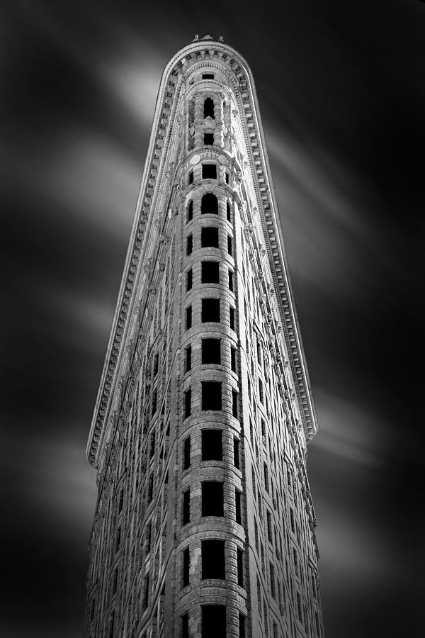 Flatiron Building Photograph - Flatiron Nights by Az Jackson