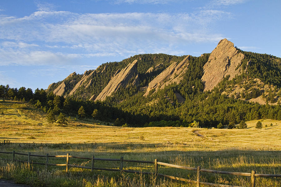 Epic Photograph - Flatirons From Chautauqua Park by James BO  Insogna
