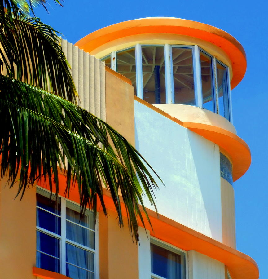 Art Deco Photograph - Flavour Of Miami by Karen Wiles