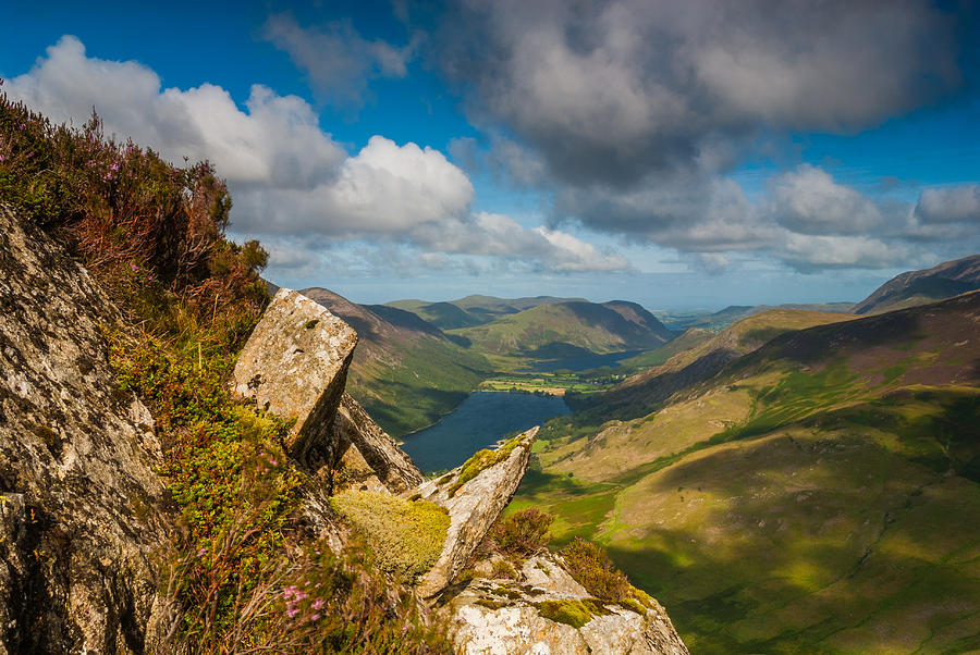 Cumbria Photograph - Fleetwith Pike Lake District by David Ross