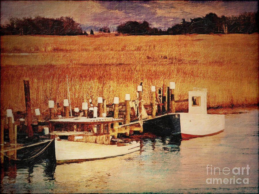 Flemings_landing Digital Art - Flemings Landing Delaware by Lianne Schneider