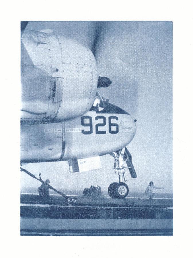 Airplane Mixed Media - Flight Ops. J.F.K. by Philip Fleischer