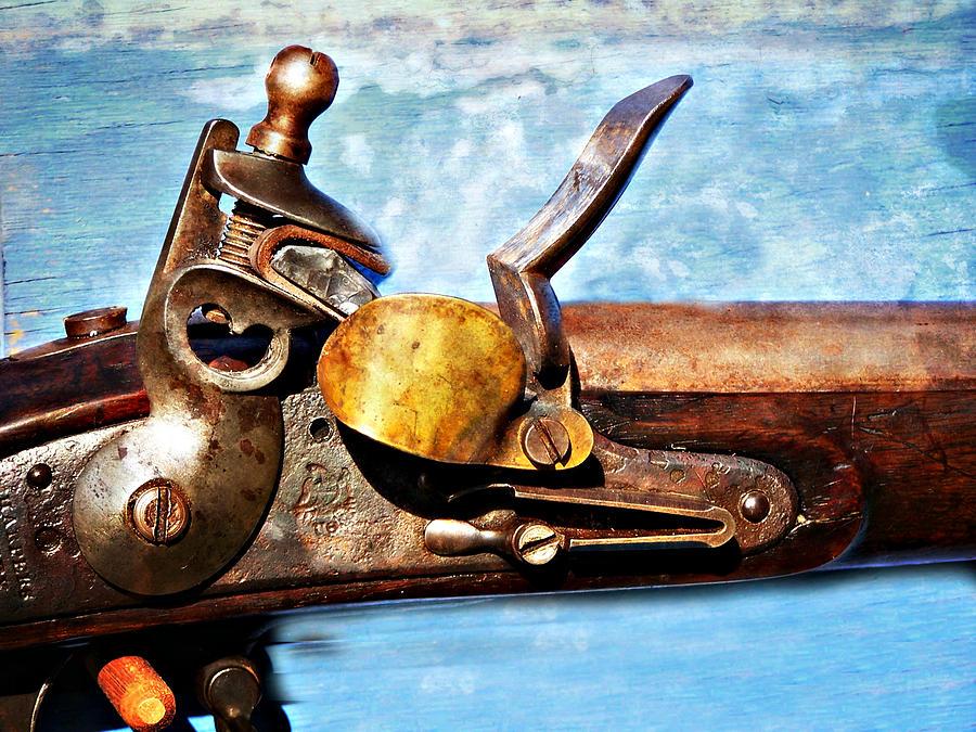 Flintlock Photograph - Flintlock by Marty Koch